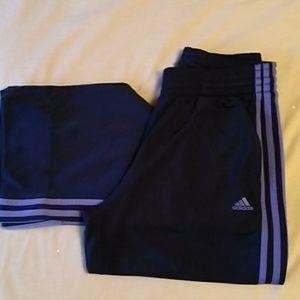 Adidas exercise pants Medium